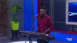 Keonte Beals Performs Ahead of NS Music Week