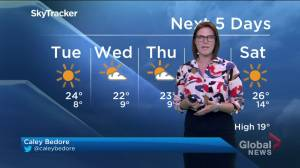Warm weather and sunshine expected across Southern Ontario