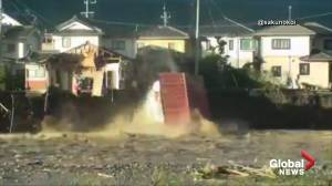 Typhoon Hagibis brings widespread flooding, damage to Japan
