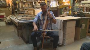 Lethbridge men finish steampunk-inspired electric cello after 6 years of work