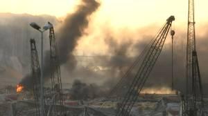 Video captures devastation in aftermath of massive explosion in Beirut