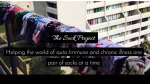 How the Sock Project is helping fight auto immune condition