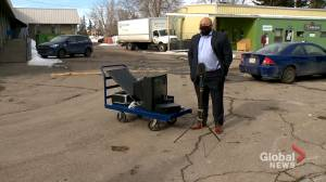 Charitable organization supports services with electronics recycling roundup amid COVID-19 (01:41)