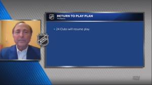 NHL announces league approval for 24 team playoff format