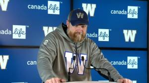 RAW: Blue Bombers Mike O'Shea Media Briefing – Nov. 13