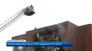 Woman dead after fire at TCHC apartment for seniors (02:54)