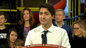 Federal Election 2019: Trudeau asked about Chinese language Facebook ad