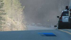 Sea to Sky Highway shut down overnight after four people hurt in a collision (00:30)