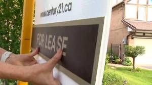 Rental recovery sparks bidding wars in the Toronto area (02:03)