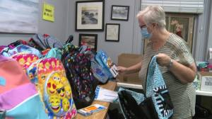 New look Oshawa backpack program helping ease back to school (01:57)