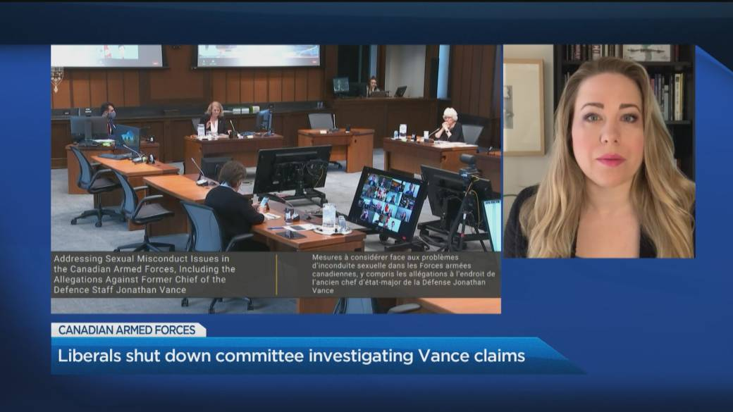 Click to play video: 'Liberals shut down committee investigating military misconduct claims'