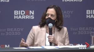 Kamala Harris calls President Trump's downplaying of coronavirus threat 'outrageous'
