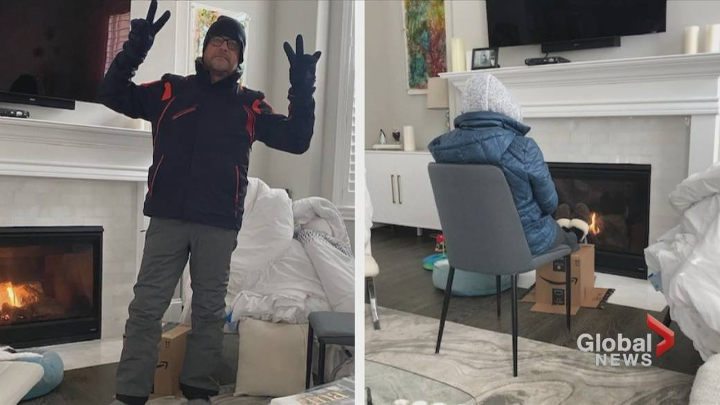 Click to play video 'Calgarian living in Texas describes last week's snow storm'