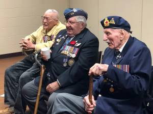 Curve Lake First Nation thank veterans during Remembrance Day ceremony
