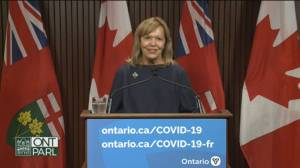 Ontario saw over 90k 1st doses given in week after COVID-19 vaccine passport announcement (01:58)