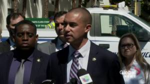 Explosives found in San Jose rail yard building following shooting: police (00:39)