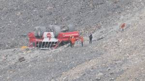 No answers 1 year after Columbia Icefield tour bus crash in Jasper National Park (02:14)