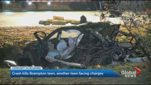 Brampton teen dead after crash, another teen facing charges