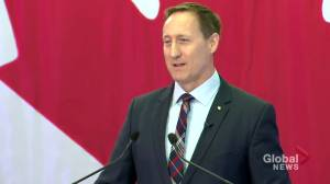 Peter MacKay formally announces Conservative Party leadership bid