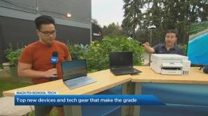 Trendy devices and tech gear for the back-to-school season (05:00)