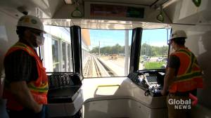 New Montreal light-rail electric train network REM rollout passing all the tests (02:06)