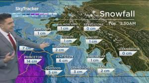 Kelowna Weather Forecast: February 12 (04:00)