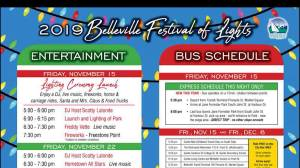 A preview of the Belleville Festival of Lights