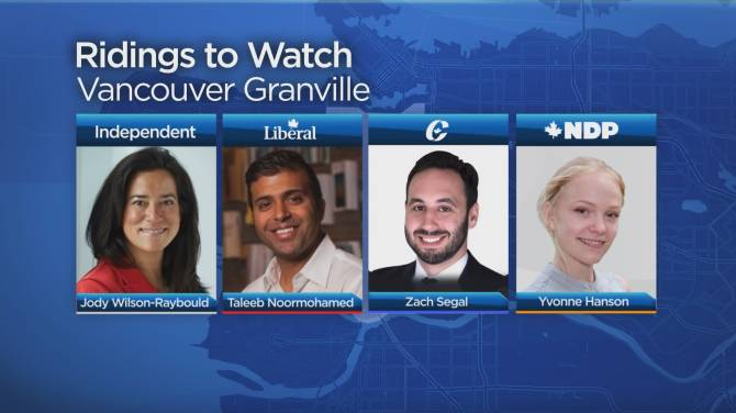 Federal parties work overtime to unseat Wilson-Raybould in Vancouver Granville