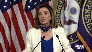 Nancy Pelosi says Trump's behaviour, on display during debate, keeps her 'up at night'