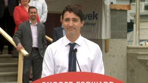Liberal leader Trudeau makes campaign announcement on housing affordability