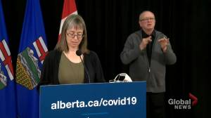 Coronavirus: Alberta updates contact tracing procedure as COVID-19 spike leads to backlog (01:59)