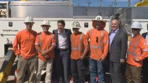 Trudeau and Horgan hatch deal to increase electric power in B.C.
