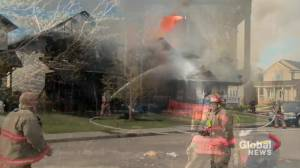 Fire destroys 3 Saskatoon homes, damages others