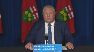 Ford says waiting on advice from top doctor whether Step 1 reopening can start sooner (02:14)