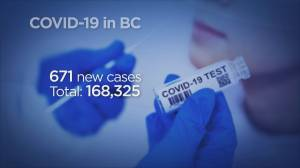 B.C. reports 671 new cases of COVID-19 and three more deaths (04:11)