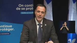 Coronavirus: Quebec to launch mobile app in support of students' mental health (00:36)