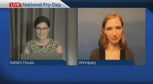 Celebrating National Fry Day in Manitoba