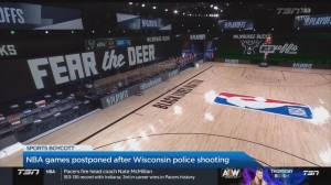 More NBA playoffs games to be boycotted as a response to police brutality in the U.S. (05:10)