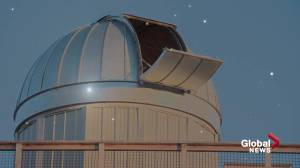 University of Alberta dark sky preserve observatory a first for Western Canada (01:34)