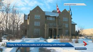 Some First Nations leaders walk out of meeting with Alberta government over children in care issues