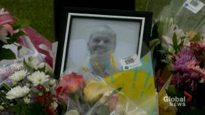 Former colleagues remember doctor killed in Red Deer attack (02:18)