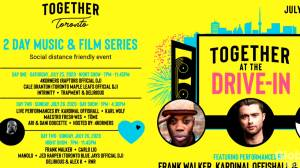 Together at the Drive-In: A charity concert festival