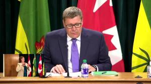 'Stark' difference between those unvaccinated, fully vaccinated for COVID-19: Saskatchewan premier (01:40)