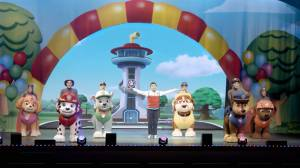 PAW Patrol Live! visits Global News Morning