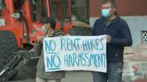 Parc-Extension tenants rally against their landlord (02:25)