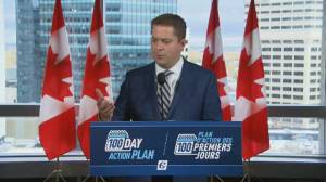 Scheer faces backlash as he campaigns in Winnipeg during emergency