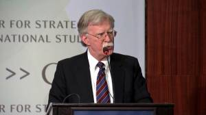 Bolton says North Korea has no intention to give up nuclear weapons