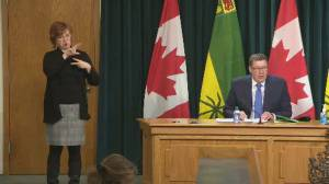 Coronavirus: Saskatchewan premier says province 'virtually out' of vaccines, but more coming (02:14)