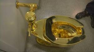 Thieves steal $5M gold toilet from Britain's Blenheim Palace