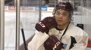 Nick Robertson reflects on 50-goal milestone with Peterborough Petes
